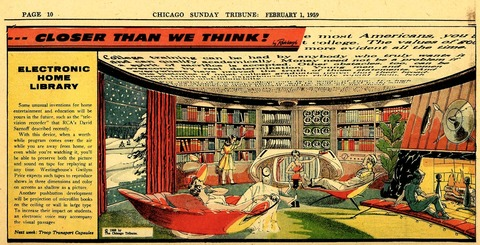 1959 electronic home library