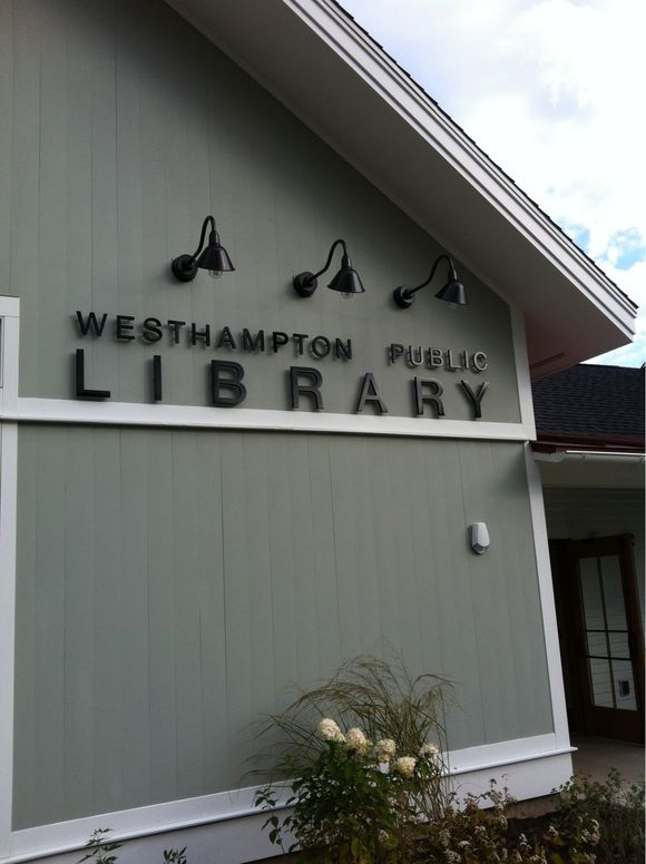 When a town gets a new library